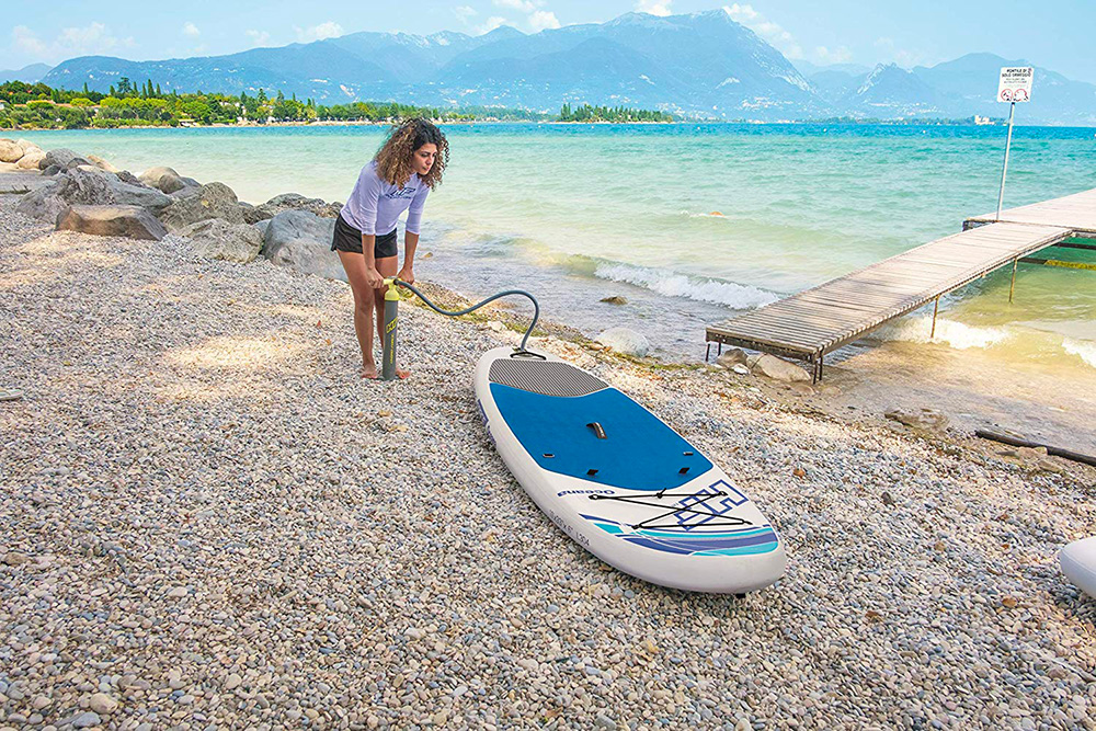 stand up paddle hydro force oceana bestway